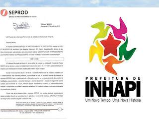 Empresa diz que judiciário tem que agir e Concurso de Inhapi ser cancelado