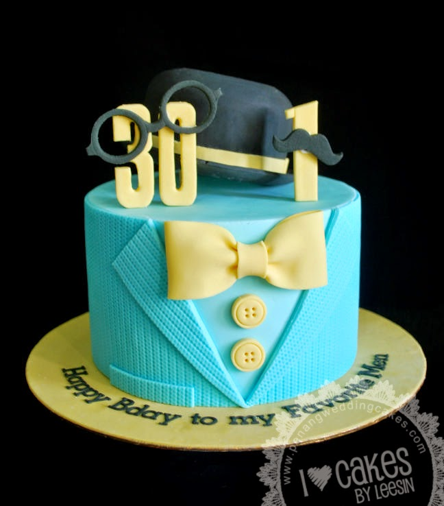 Images Of Cake For A Man : Penang Wedding Cakes by Leesin: Little Man Cake