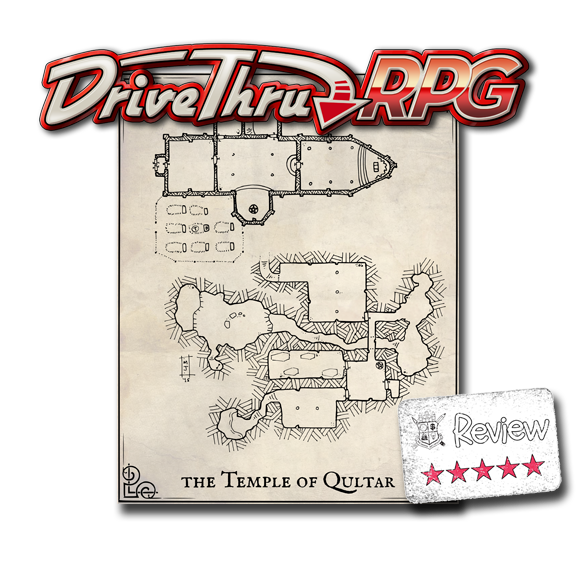Frugal GM Review: Temple of Qultar