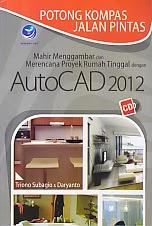 toko buku rahma: buku AUTOCAD 2012, pengarang triono subagio, penerbit andi