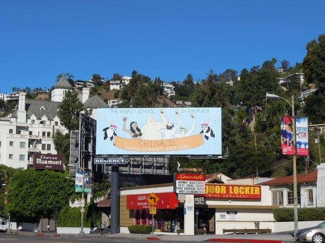 China, IL Adult Swim billboard