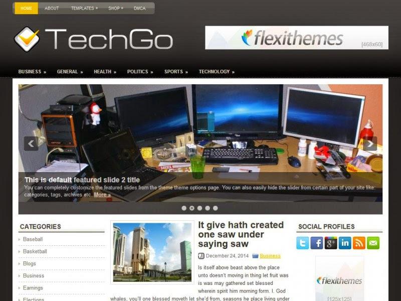 TechGo - Free Wordpress Theme