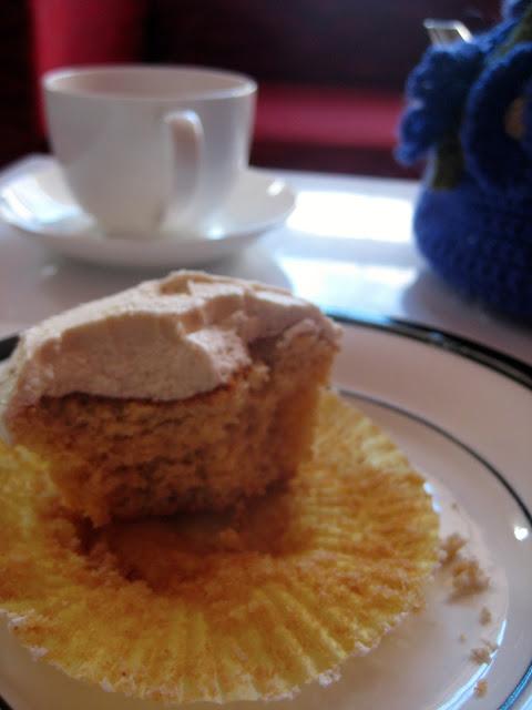 burnt butter brown sugar cupcakes