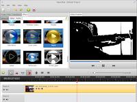 "Mencoba editor video ""OpenShot"""