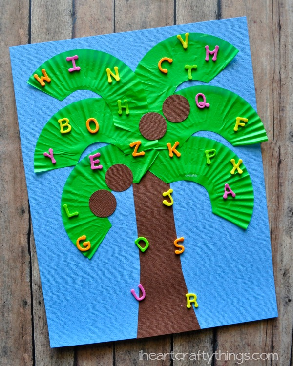 Chicka Chicka Boom Boom Kids Craft I Heart Crafty Things