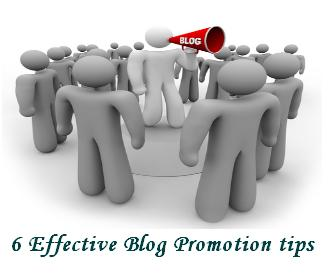 6 Effective Blog Promotion Techniques