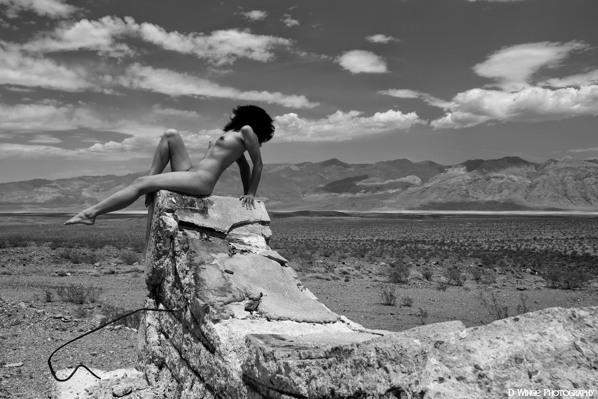 Naked in death valley