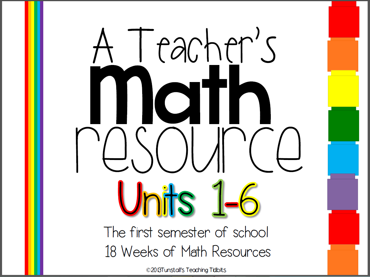 http://www.teacherspayteachers.com/Product/A-Teachers-Math-Resource-Units-1-6-18-Weeks-First-Semester-749602