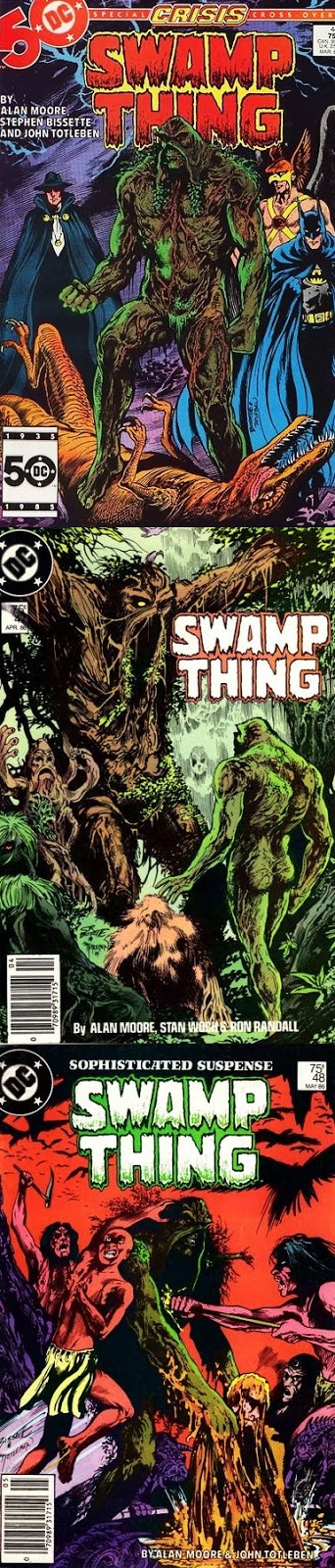 Swamp Thing # 46, 47 48 - Moore, Bissette, Totleben Woch