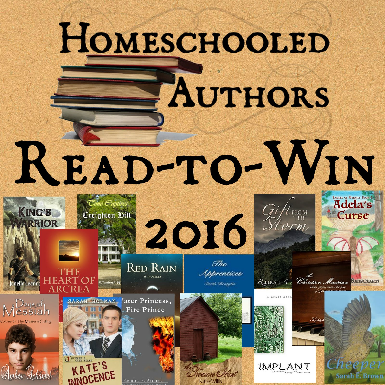 Homeschooled Authors Read-to-Win