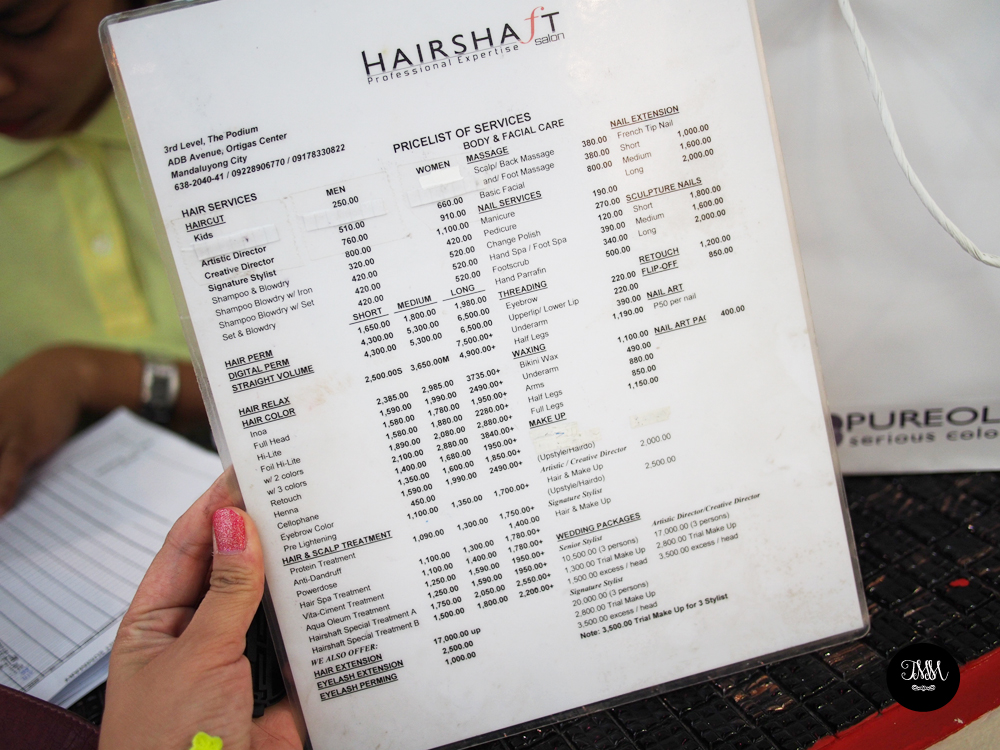 They Grant \'DreamHair\' Wishes at Hairshaft Salon - THE MAKEUP MAVEN ...