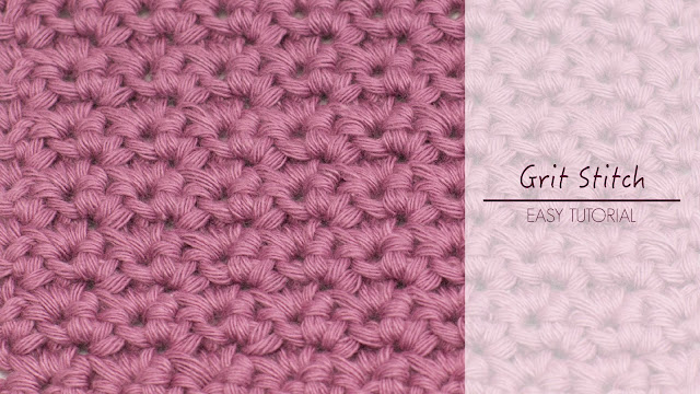 Crochet Stitches Grit : ... Honey Craft, Crochet, Create: How To: Crochet The Grit Stitch