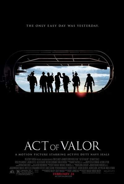 Act of Valor 2012 DVDRip Español Latino Descargar 1 Link