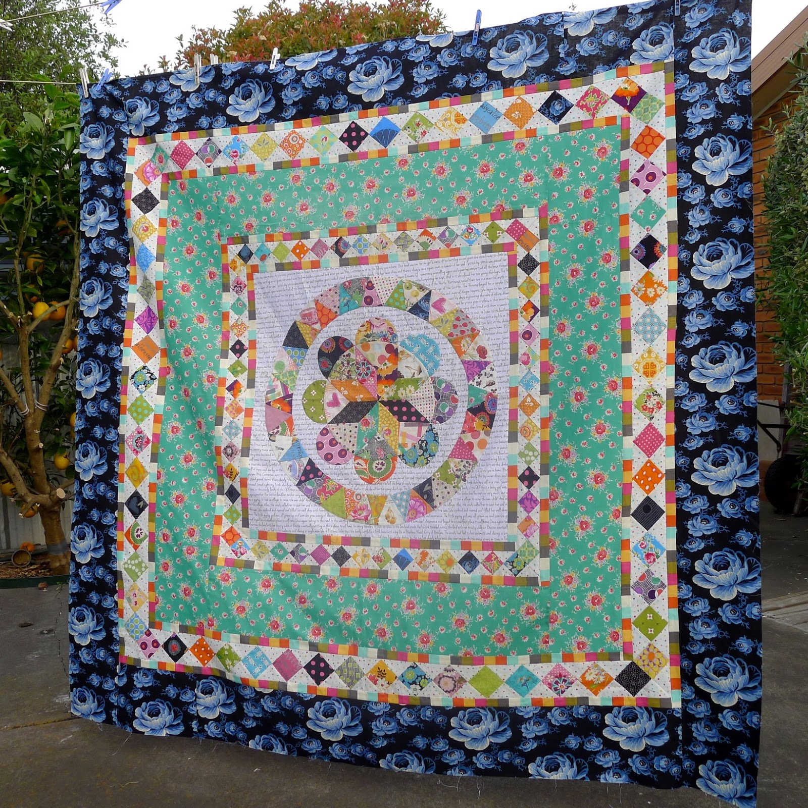 quilts picture sitar medallion quilt s laundry basket pattern scrappy p by of edyta