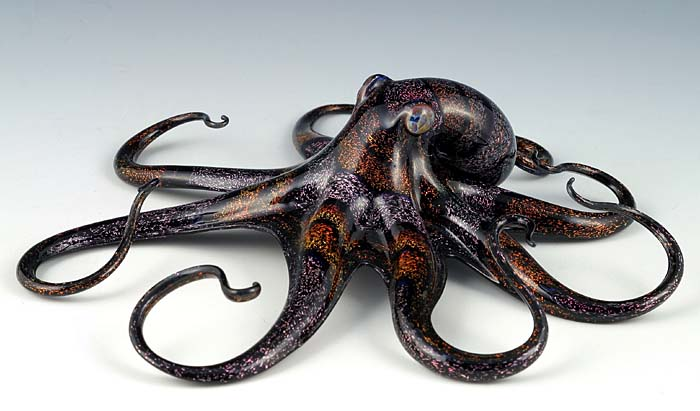 13-Octopus-Scott-Bisson-Glass-Sea-and-Land-Animals-www-designstack-co