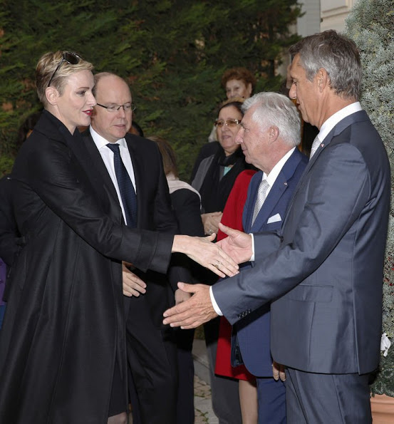 Prince Albert And Princess Charlene Attended Parcels Distribution