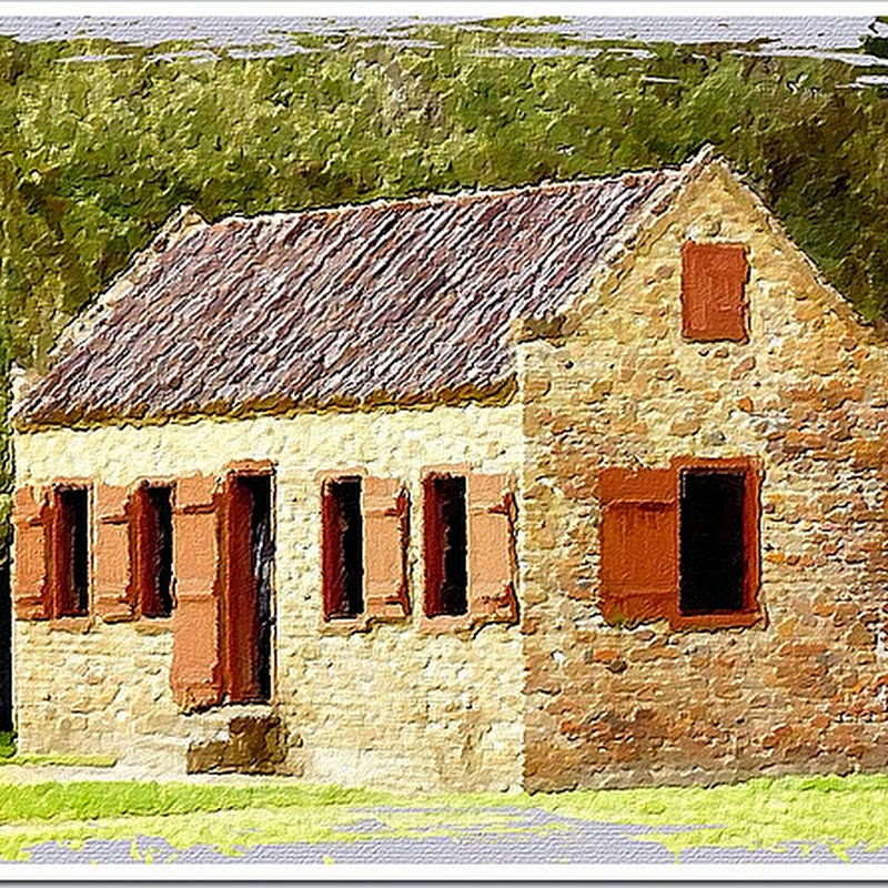 Old slave house image