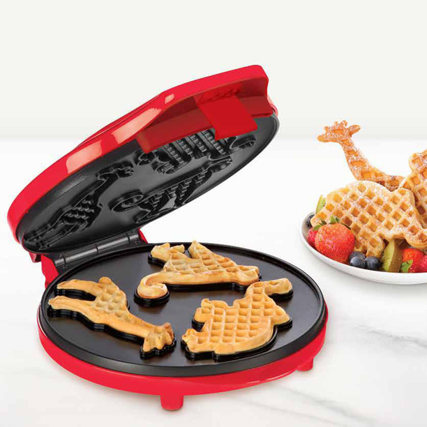 10 creative waffle makers and waffle irons. Black Bedroom Furniture Sets. Home Design Ideas