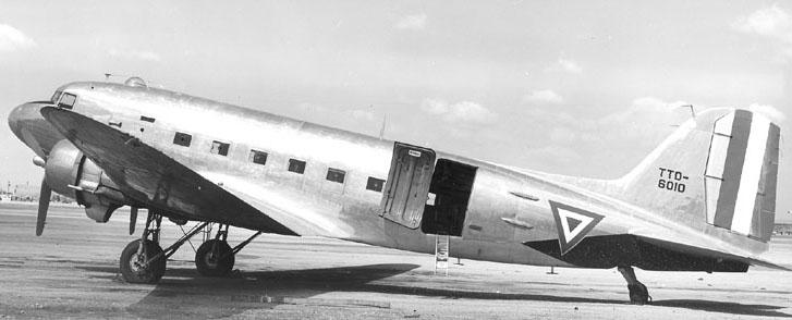 Inventario  de  aeronaves de  la  FAM  ( actualizado 23 Febrero 2016 ) C-47+natural