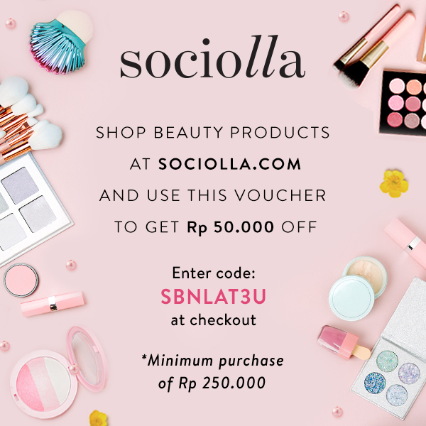 Discount on Sociolla