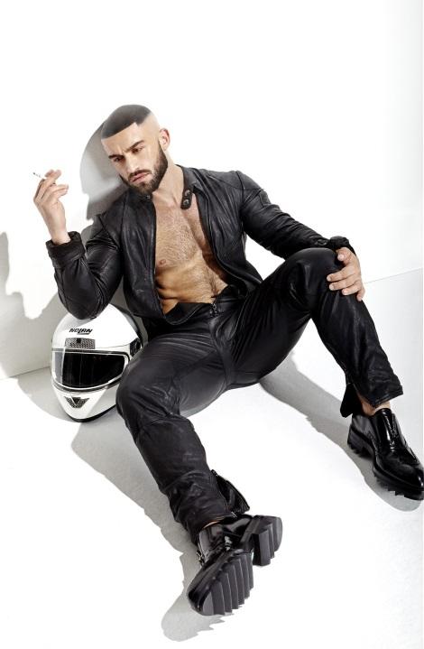 Francois Sagat by Mario Gomez for Maxim Italy