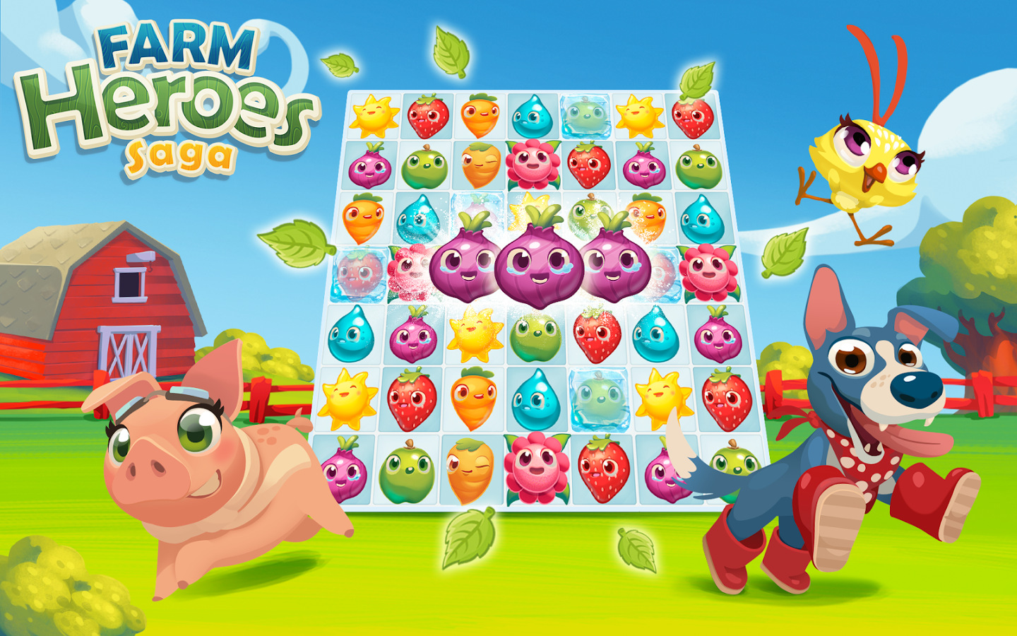 Farm Heroes Saga, Game Santai dari King