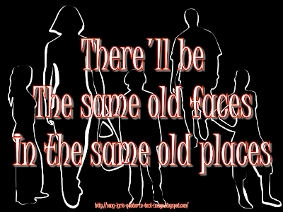 South Of The Border - Robbie Williams Song Lyric Quote in Text Image