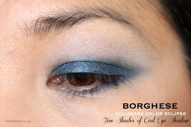 jennifer lopez makeup, jennifer lopez glowing skin, Borghese Eclissare Color Eclipse Eye Shadow, Review, Swatch, Five Shades of Cool, Five Shades of Fresh. How to smokey eyes, blue eye makeup, makeup for brown eyes