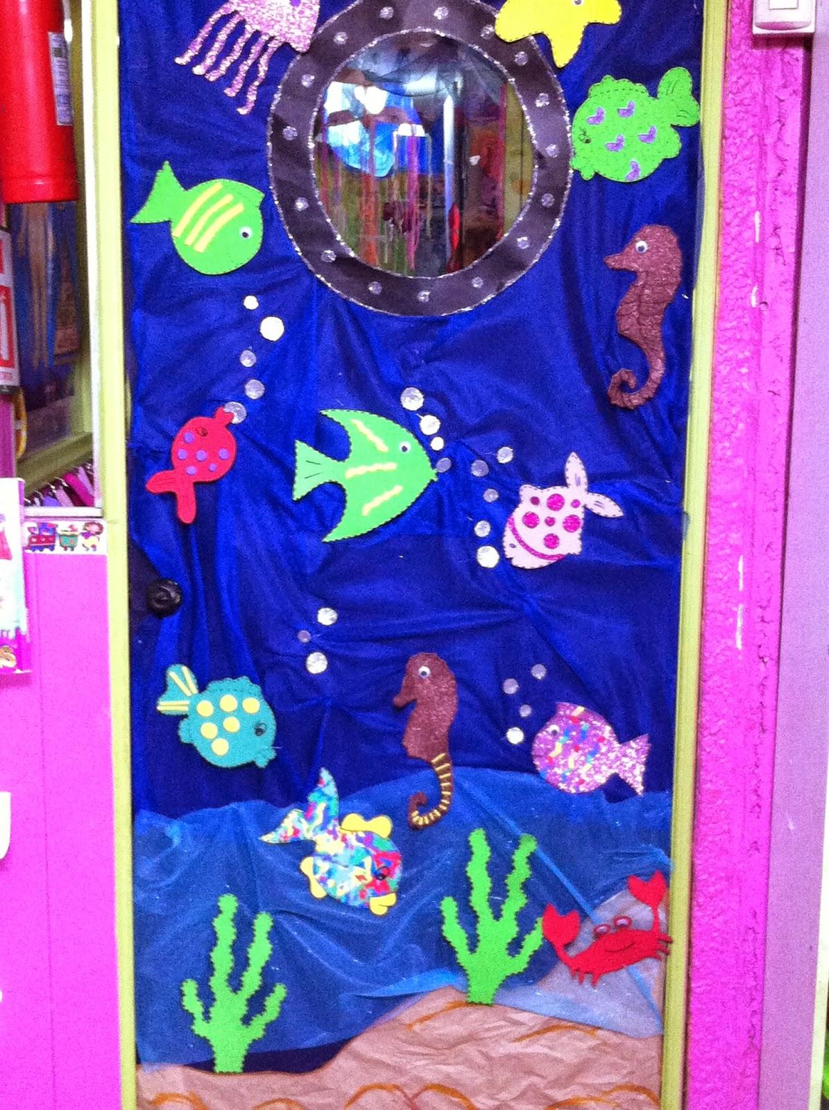Jard n infantil un mundo de amor muestra de decoraci n for Decoracion jardin maternal