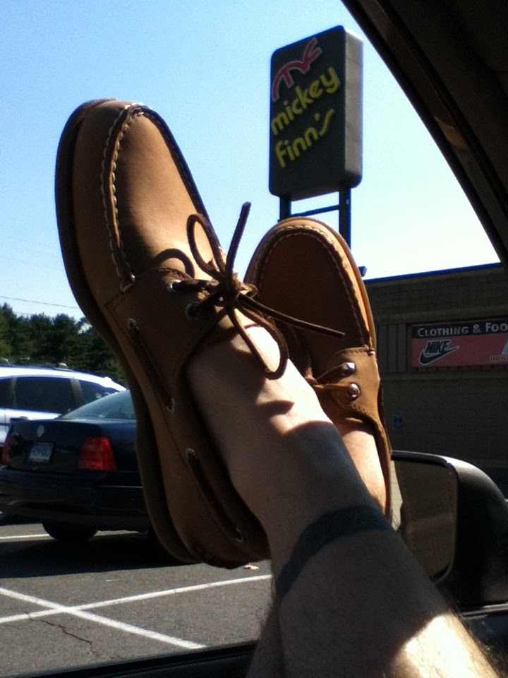 boat shoes without socks