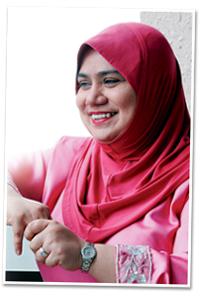 Rosnah Bakal Bertanding EXCO Wanita