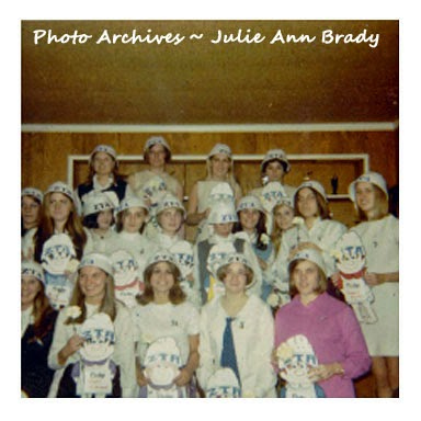 ONU Ada, Ohio - Zeta Tau Alpha Pledge Class - January 19, 1970