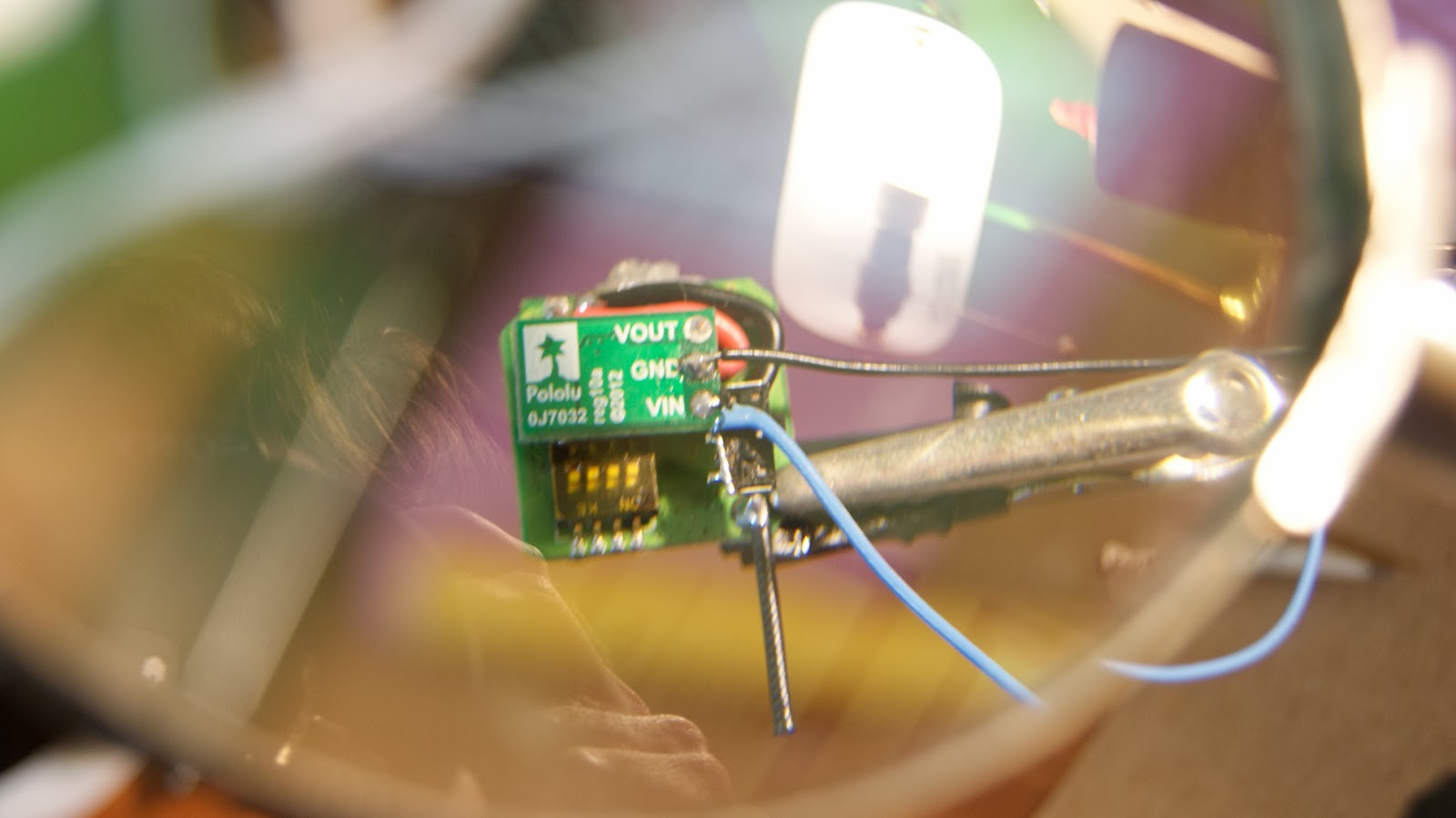 The Mental Munition Factory A Bugs Eye View Brought To You By 5 Volt Voltage Regulator Circuit Make Sure Camera And Transmitter Had Adequate Power Pololu Step Up Was Integrated Into System