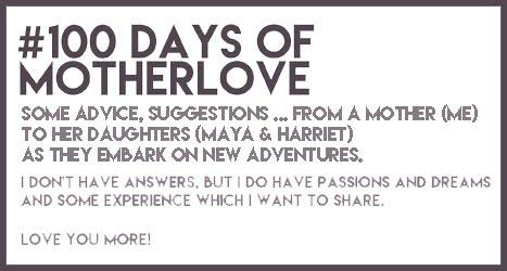 #100daysofMotherLove