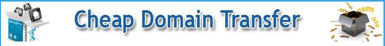 cheap domain transfer