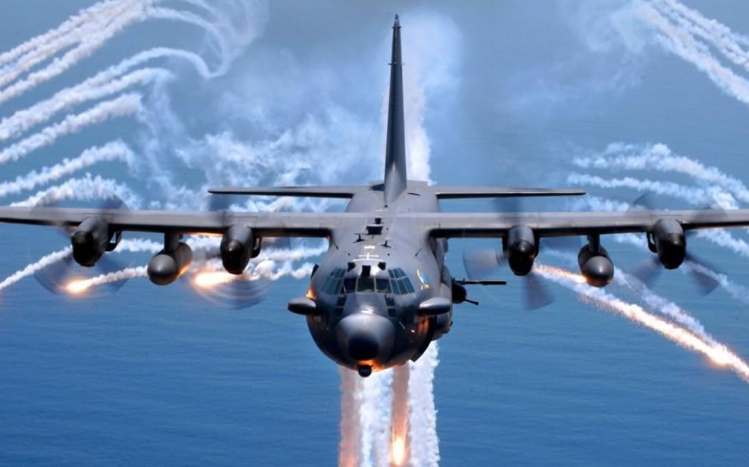 AC-130 Spectre Aircraft Wallpaper 1