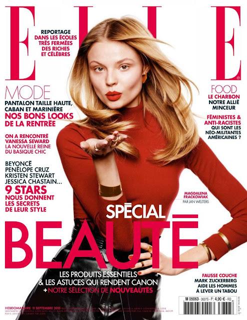 Fashion Model @ Isabeli Fontana - Elle  France, September 2015