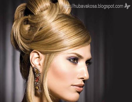 Булчински и вечерни прически 2011 с вдигната коса
