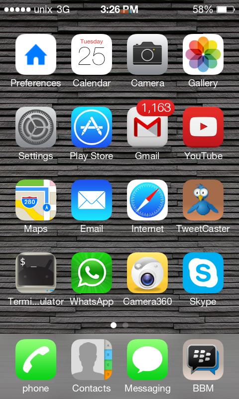 kalau sudah tinggal di install aja ini screenshot nya