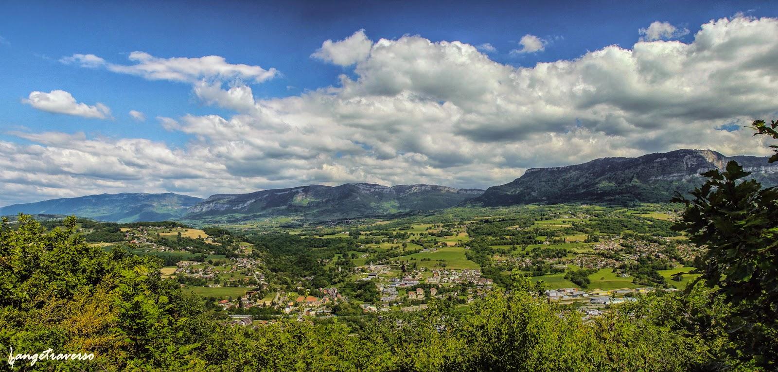 Panorama sur La Biolle, Savoie