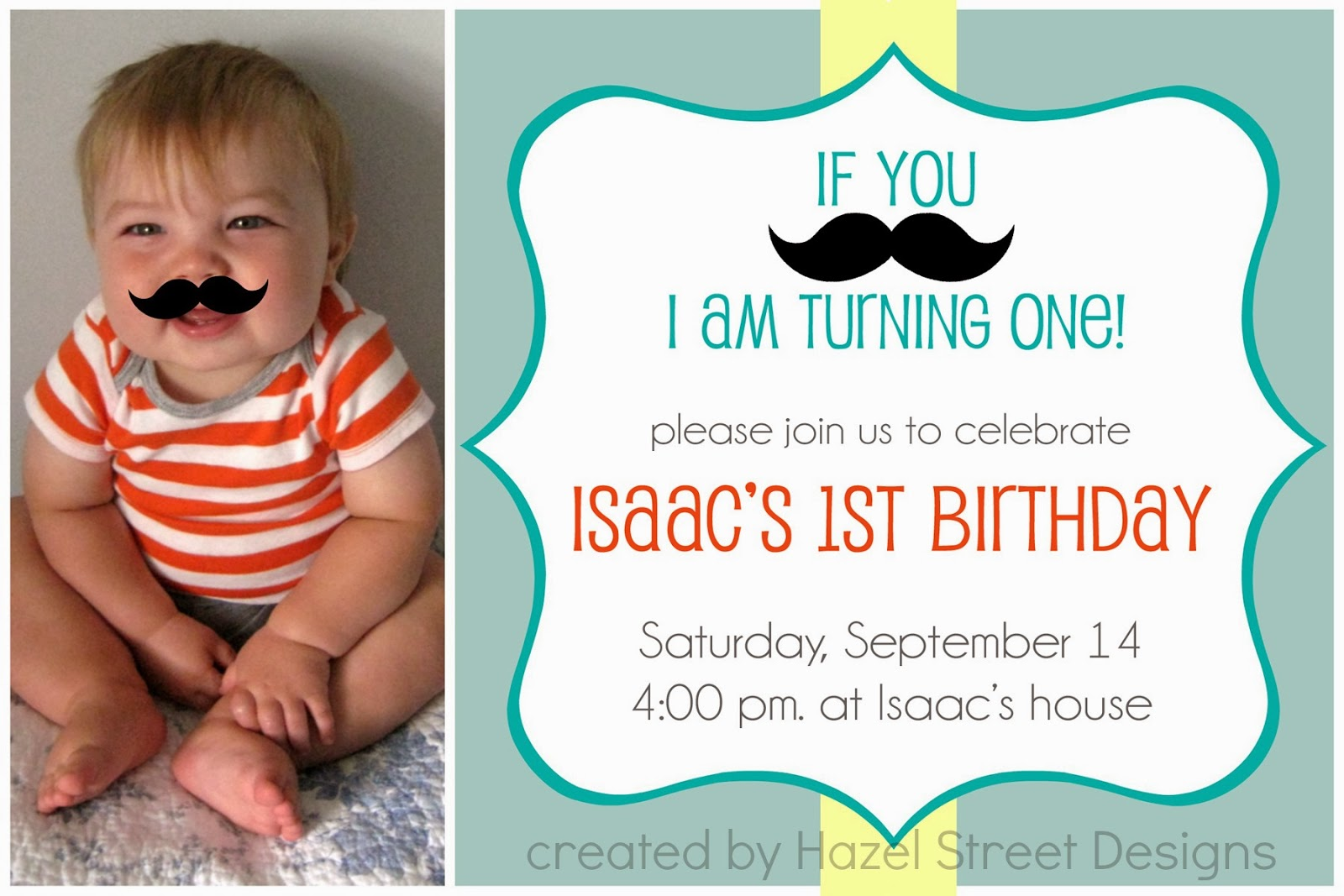 Living in My Pajamas: Little Man Birthday Party