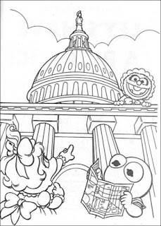 Bert And Ernie Coloring Pages