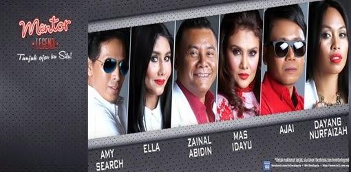 Mentor Legend 2014 di TV3, rancangan menyanyi didikan sifu Mentor TV3, senarai sifu Mentor Legend, senarai peserta Mentor Legend 2014, pengacara Mentor Legend, sistem pemarkahan Mentor Legend