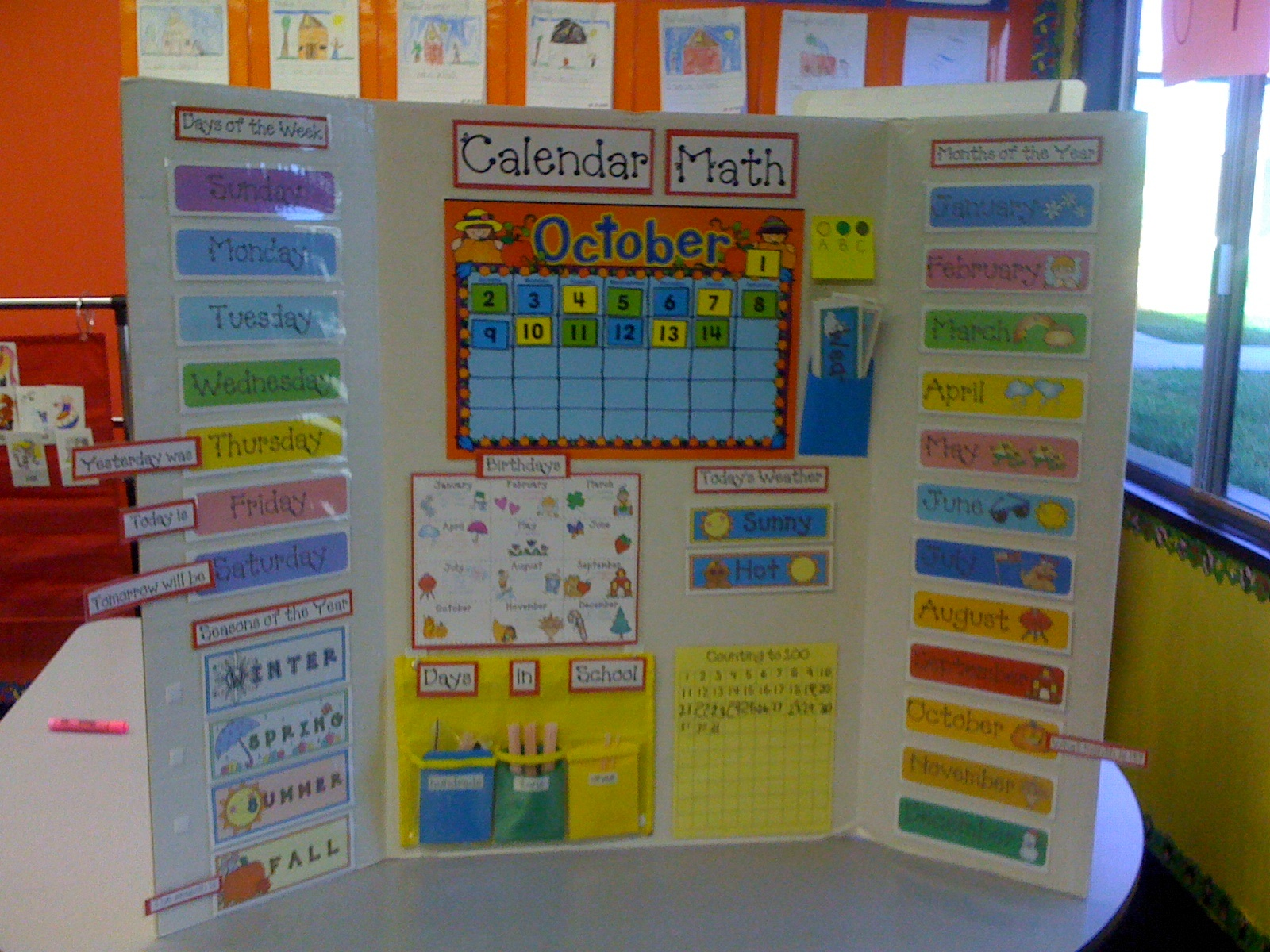 Calendar Math Games Kindergarten : A day in the life of classroom teacher oh where