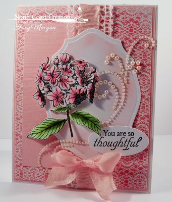 Stamps - North Coast Creations Floral Sentiments 6, ODBD Heart and Soul Paper Collection, ODBD Custom Elegant Ovals Die