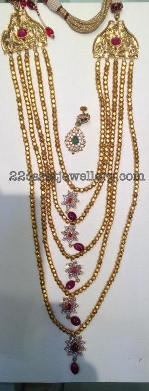 New Look Chandra Haram Jewellery Designs