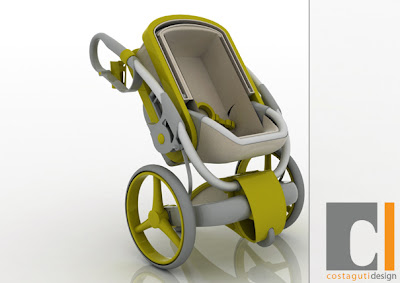 Creative Baby Strollers and Cool Baby Stroller Designs (11) 9