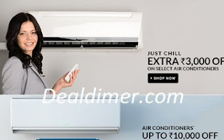Air Conditioners Extra upto Rs. 10000 Cashback