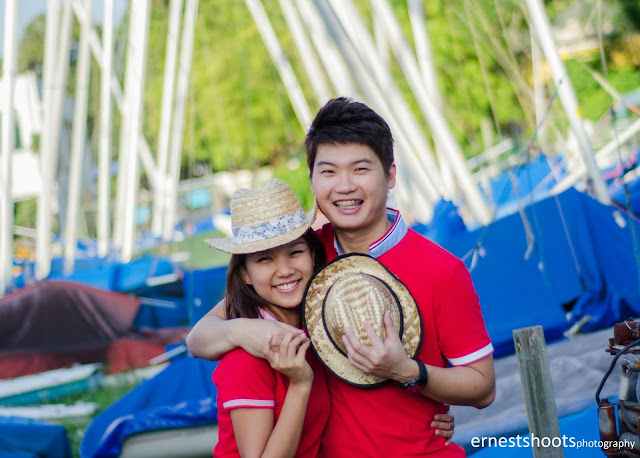 Photography couple yacht marina