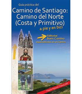 Nueva guía 2015 Camino del Norte (Costa y Primitivo).